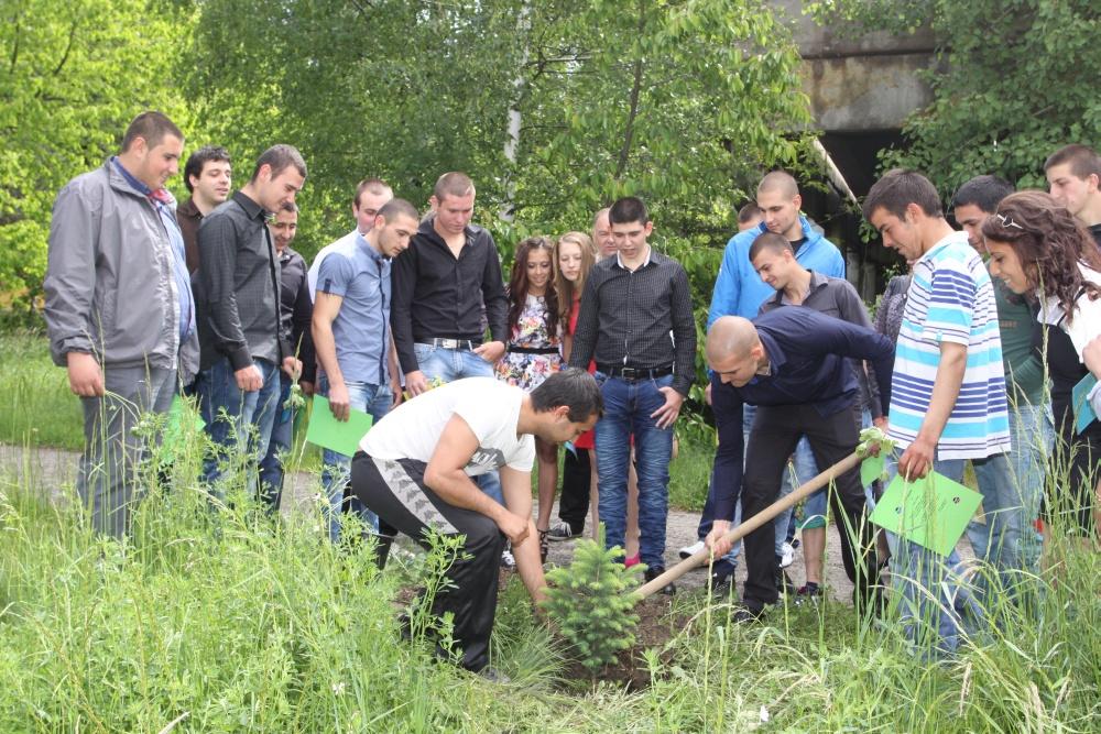 АТПГ – ЗЛАТИЦА  Абитуриенти засадиха дръвче